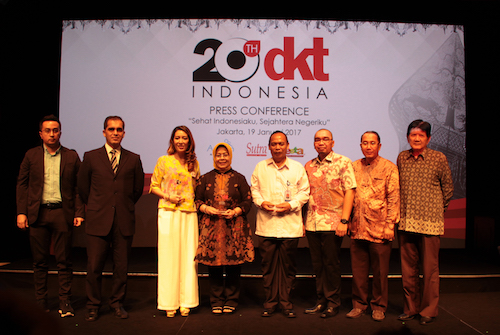 "DKT Indonesia Supports ""Sehat Indonesiaku, Sejahtera Negeriku"" Conference Strengthening Commitment to United Nation's Sustainable Development Goals and Celebrates 20-Year Anniversary"