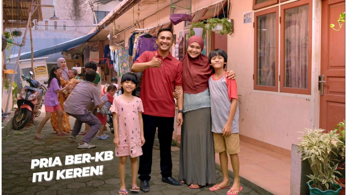 """DKT Indonesia and BKKBN Promotes """"Pria Ber-KB Itu Keren!"""", Encourage Indonesian Men to Participates in Family Planning to Prevent Stunting"""