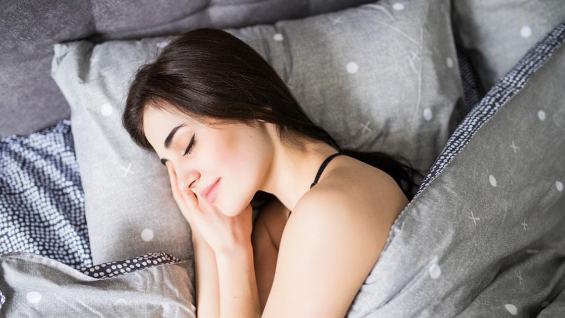 Menstrual cup saat tidur
